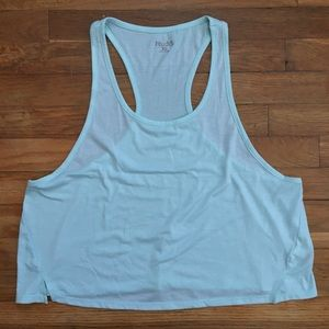 Baby Blue Cropped Tank Top